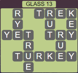 Wordscapes Reflect Glass 13 - Level 3533 Answers