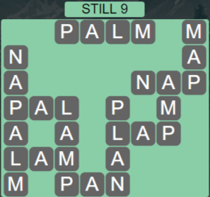 Wordscapes Reflect Still 9 - Level 3545 Answers