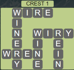 Wordscapes Reflect Crest 1 - Level 3553 Answers