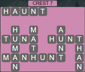 Wordscapes Reflect Crest 7 - Level 3559 Answers