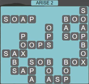 Wordscapes Reflect Arise 2 - Level 3586 Answers