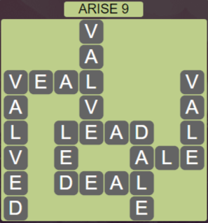 Wordscapes Reflect Arise 9 - Level 3593 Answers