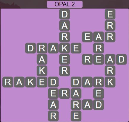 Wordscapes Majesty Opal 2 - Level 3618 Answers