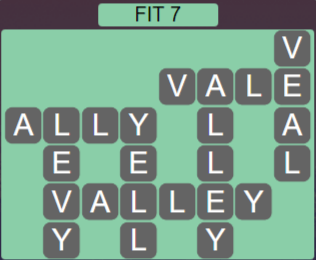 Wordscapes Majesty Fit 7 - Level 3655 Answers