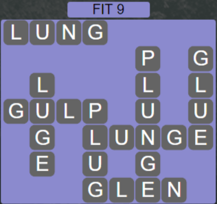 Wordscapes Majesty Fit 9 - Level 3657 Answers