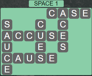 Wordscapes Majesty Space 1 - Level 3665 Answers