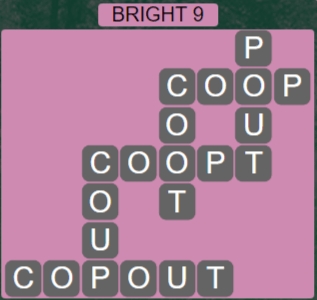 Wordscapes Astral Bright 9 - Level 3689 Answers