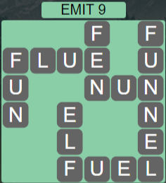 Wordscapes Astral Emit 9 - Level 3705 Answers