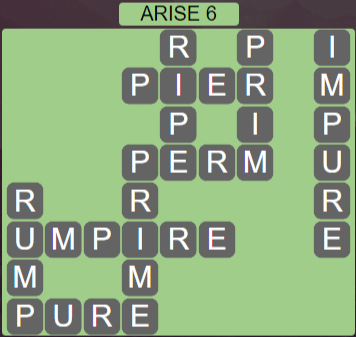 Wordscapes Astral Arise 6 - Level 3734 Answers