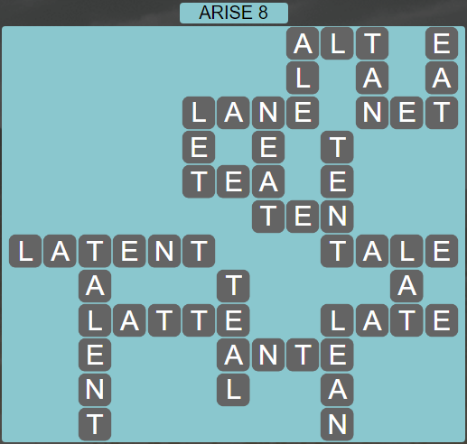 Wordscapes Astral Arise 8 - Level 3736 Answers