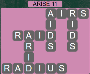 Wordscapes Astral Arise 11 - Level 3739 Answers