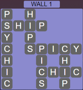 Wordscapes Stone Wall 1 - Level 3777 Answers