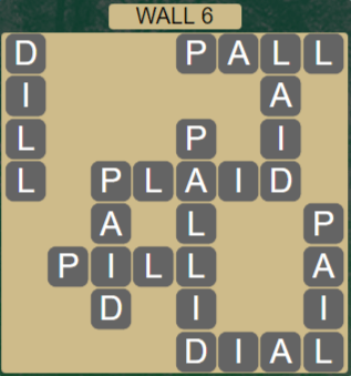 Wordscapes Stone Wall 6 - Level 3782 Answers
