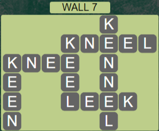 Wordscapes Stone Wall 7 - Level 3783 Answers