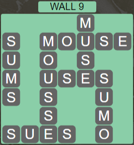 Wordscapes Stone Wall 9 - Level 3785 Answers