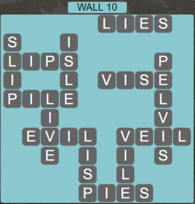 Wordscapes Stone Wall 10 - Level 3786 Answers