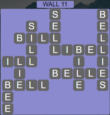 Wordscapes Stone Wall 11 - Level 3787 Answers