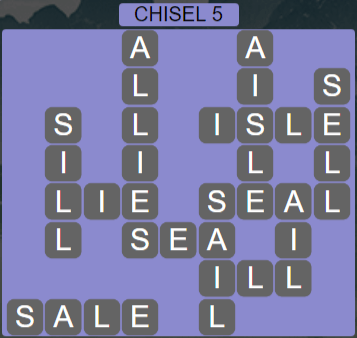 Wordscapes Stone Chisel 5 - Level 3797 Answers