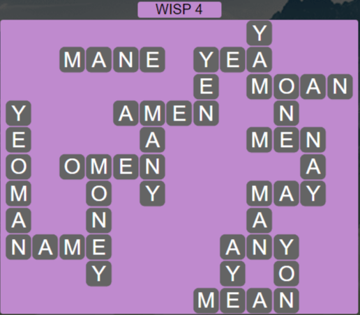 Wordscapes Stone Wisp 4 - Level 3828 Answers