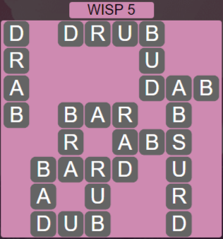 Wordscapes Stone Wisp 5 - Level 3829 Answers