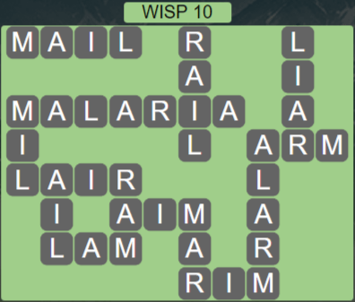 Wordscapes Stone Wisp 10 - Level 3834 Answers