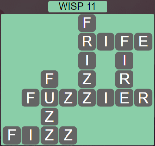 Wordscapes Stone Wisp 11 - Level 3835 Answers