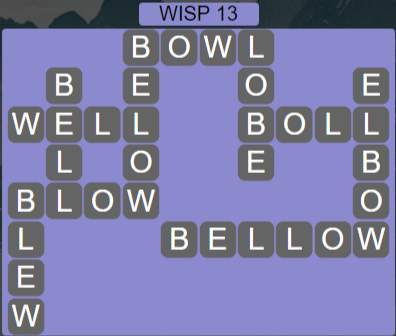Wordscapes Stone Wisp 13 - Level 3837 Answers