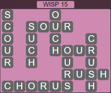 Wordscapes Stone Wisp 15 - Level 3839 Answers