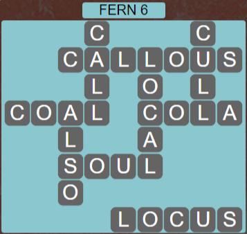 Wordscapes Green Fern 6 - Level 3846 Answers