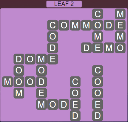 Wordscapes Green Leaf 2 - Level 3858 Answers