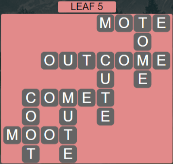 Wordscapes Green Leaf 5 - Level 3861 Answers