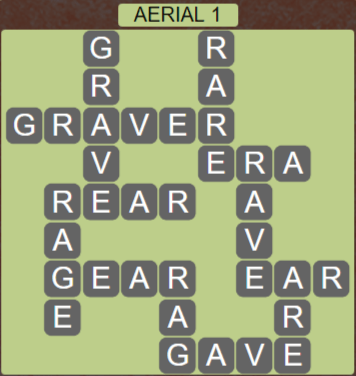 Wordscapes Green Aerial 1 - Level 3873 Answers