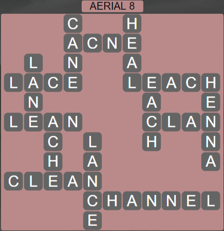 Wordscapes Green Aerial 8 - Level 3880 Answers