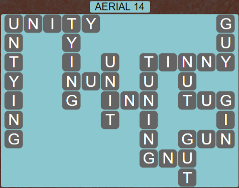 Wordscapes Green Aerial 14 - Level 3886 Answers