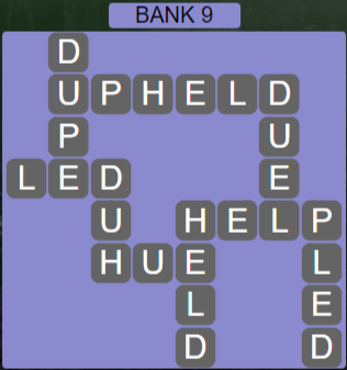 Wordscapes Green Bank 9 - Level 3897 Answers