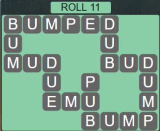 Wordscapes Green Roll 11 - Level 3915 Answers