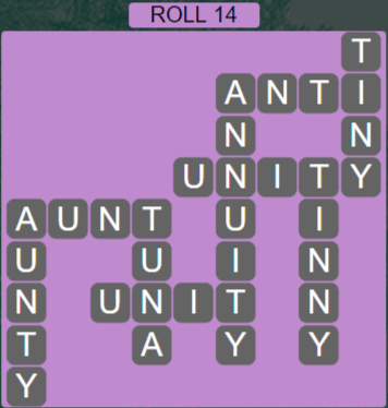 Wordscapes Green Roll 14 - Level 3918 Answers