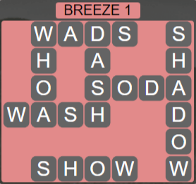 Wordscapes Wind Breeze 1 - Level 4001 Answers