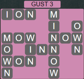 Wordscapes Wind Gust 3 - Level 4019 Answers