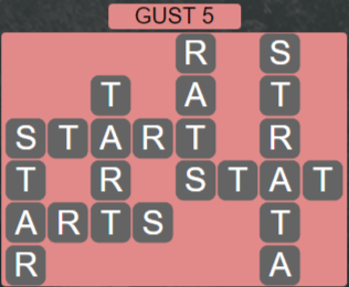 Wordscapes Wind Gust 5 - Level 4021 Answers