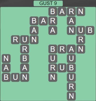 Wordscapes Wind Gust 9 - Level 4025 Answers