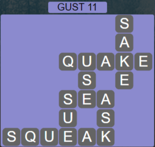 Wordscapes Wind Gust 11 - Level 4027 Answers