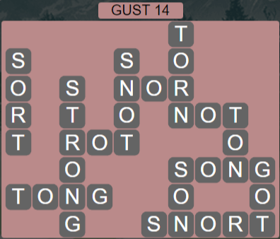 Wordscapes Wind Gust 14 - Level 4030 Answers