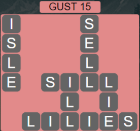 Wordscapes Wind Gust 15 - Level 4031 Answers