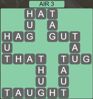 Wordscapes Wind Air 3 - Level 4035 Answers