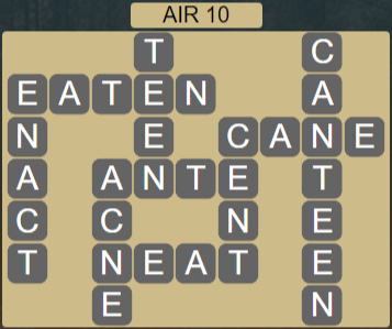 Wordscapes Wind Air 10 - Level 4042 Answers
