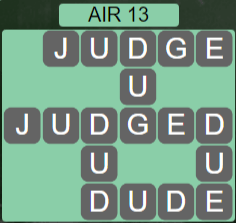 Wordscapes Wind Air 13 - Level 4045 Answers