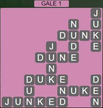 Wordscapes Wind Gale 1 - Level 4049 Answers