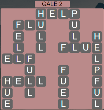 Wordscapes Wind Gale 2 - Level 4050 Answers