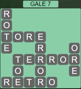 Wordscapes Wind Gale 7 - Level 4055 Answers